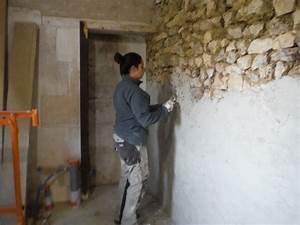 Mur A La Chaux : mur pierre apparente mur pierre apparente chaux ~ Premium-room.com Idées de Décoration