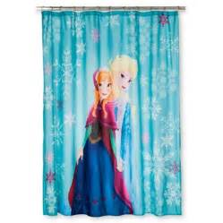 disney 174 frozen anna elsa shower curtain target