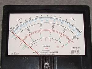 Simpson 260-6xl - Volt - Ohm