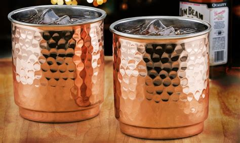 Copper/stainless Steel Barware Sets (2-piece)