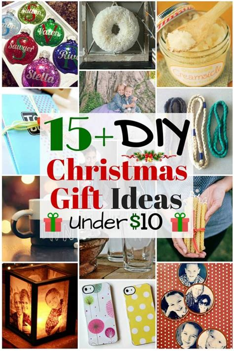 honemade christmas gifts under fifteen dollars 15 diy gift ideas 10 the budget diet