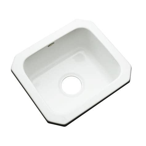 shop dekor white acrylic undermount residential bar sink