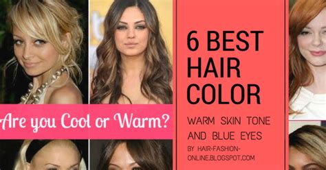 hair color for warm skin tone best hair colors for warm skin tone and blue hair