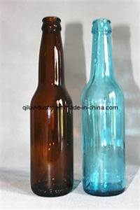 China wholesale 355ml 12oz amber clear blue green glass for Bulk 12 oz beer bottles