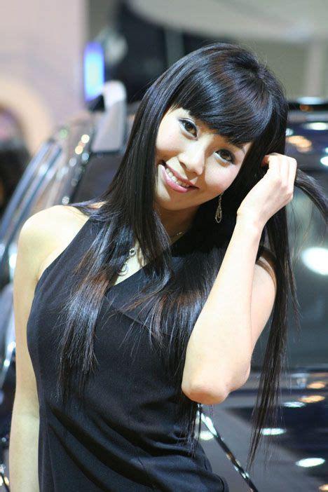 korean show girl photoshoot top fashion models female