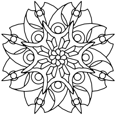 blade flower coloring page coloringcom