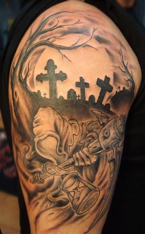 cmentarz tatuaz