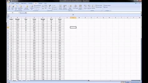 excel grouping columns rows
