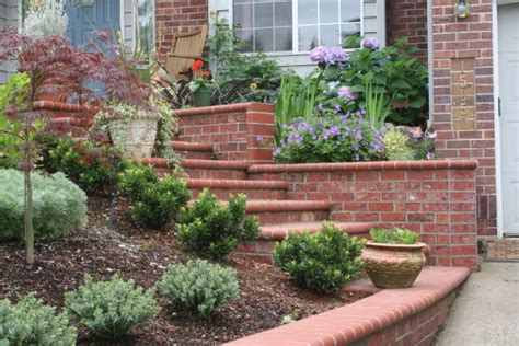 brick wall front yard curb appeal 20 modest yet gorgeous front yards