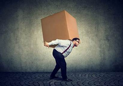 Heavy Carrying Carry Burden Box Load Packages