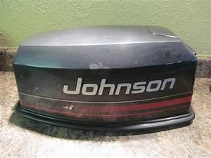 Johnson Evinrude Cowling Cover Hood 1995