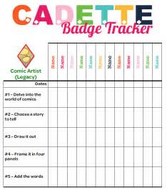Girl Scout Cadette Badges Requirements