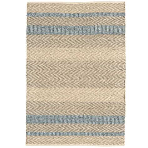 tapis raye bleu et blanc maison design sphena