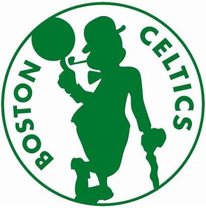 Boston Celtics Alternate Logos Silhouette Team Sports