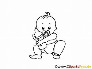 Babybilder Zum Ausmalen : kostenloses ausmalbild baby mit milchflasche ~ Markanthonyermac.com Haus und Dekorationen