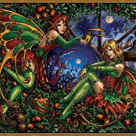 christmas fairy elves fairies and other magical things