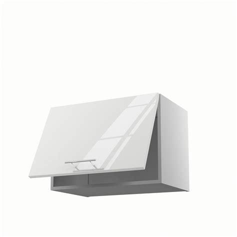 hotte de cuisine 60 cm meuble de cuisine haut sur hotte blanc 1 porte h 42 x