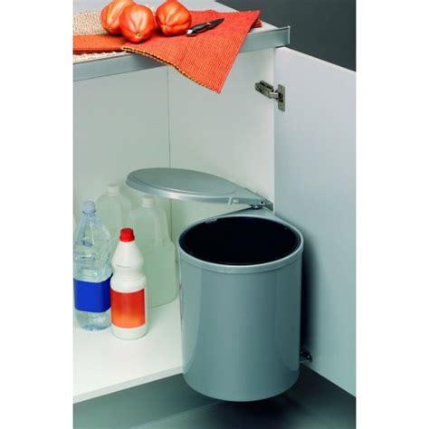 poubelle de porte cuisine poubelle de porte automatique 1 seau de 12 litres wesco bricozor