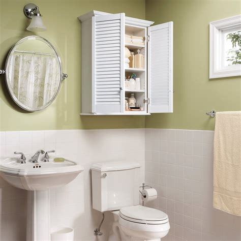 How To Hang A Bathroom Cabinet On The Wall by 5 Ways To Install Glass Display Cabinet In Bathroom