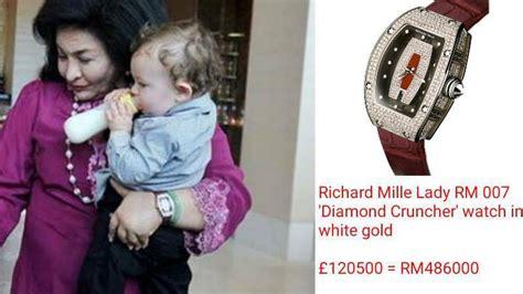 Jam Rolex Ring Mata 012 senarai barang yang diras dalam serbuan di kediaman