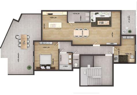 home floor plan rendering services  photoshop