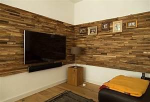 Wohnzimmer Wand Holz : verblender wohnzimmer grau ~ Lizthompson.info Haus und Dekorationen