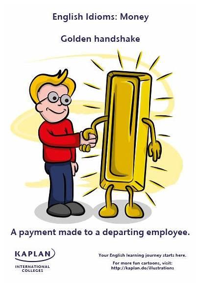 Idioms Golden Money English Handshake Gold Language