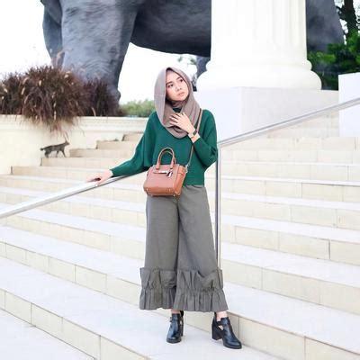 tampil  fashion blogger padukan baju