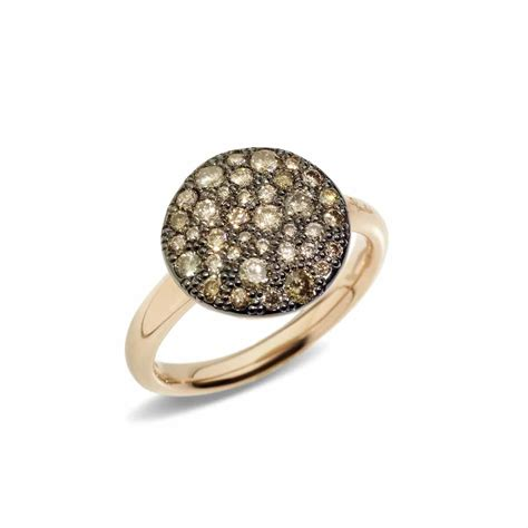 pomellato jewellery pomellato sabbia ring lionel meylan vevey