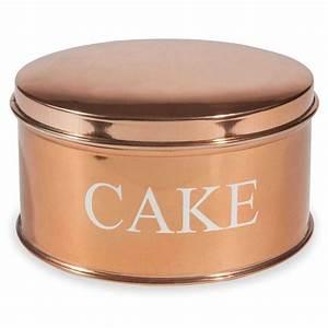 Boite A Gateau Metal : bo te en m tal cake copper accesorios pinterest ~ Teatrodelosmanantiales.com Idées de Décoration
