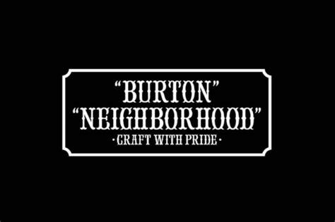 burton  neighborhood  fallwinter capsule hypebeast