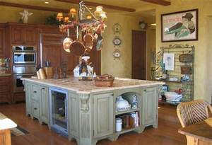 die moderne kochinsel in der kuche 20 verbluffende ideen With kitchen colors with white cabinets with cowboy metal wall art