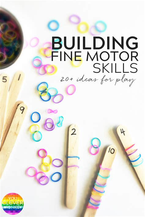 20 simple on activities that help build motor 869 | 697da432beed78ad28bd6ae2fbb6145d
