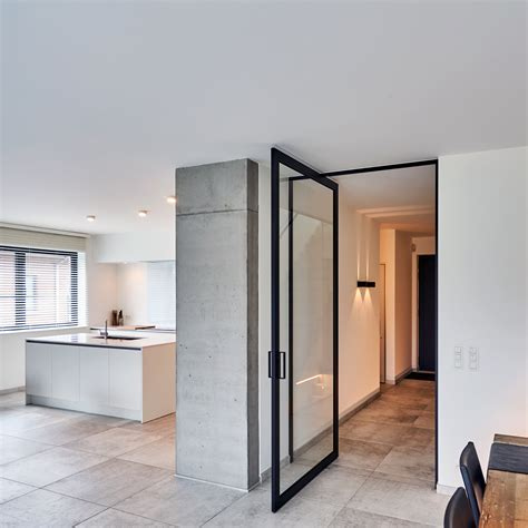 the glass door modern glass pivoting doors made to measure with