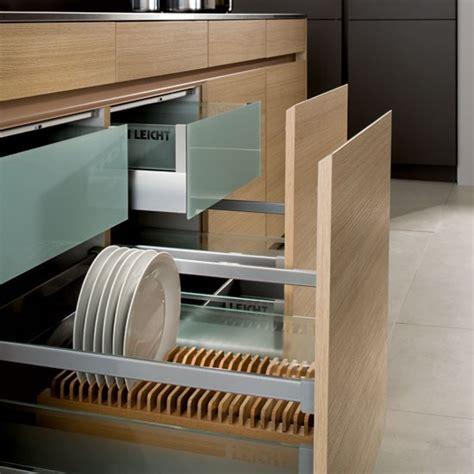 best kitchen storage ideas crockery and cutlery drawer from leicht kitchen storage