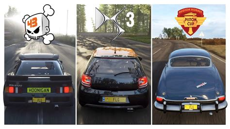 forza horizon  citroen ds racing hoonigan ford rs