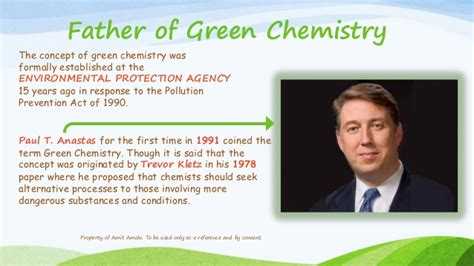 Green Chemistry, Its Applications And Benefits