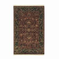 home depot rugs Home Decorators Collection Chantilly Red 8 ft. x 11 ft ...