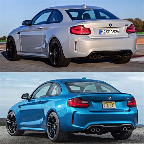 photo comparison bmw m2 competition bmw m2