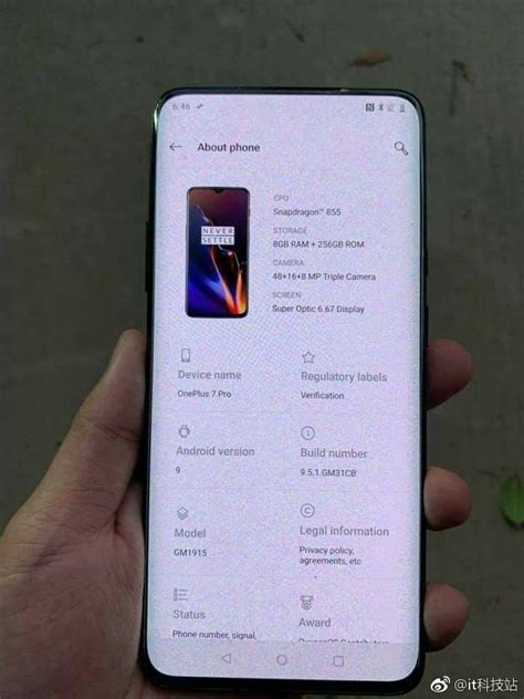 The oneplus 9 pro, on the other hand, might be slightly more expensive than the oneplus 8 pro. OnePlus 7 Pro images leak reveals the phone's design and specs