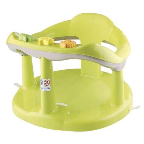 siège de bain bébé thermobaby anneau de bain aquababy vert vert achat