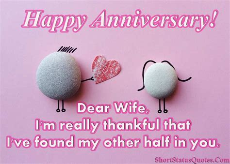anniversary status  wife anniversary wishes captions