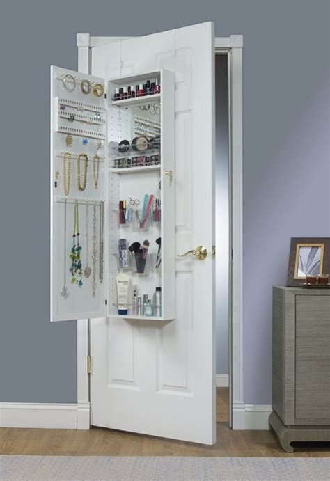 the door mirrored jewelry armoire bring home functional style with an the door mirror