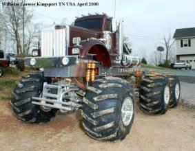 Custom Semi-Trucks Monster