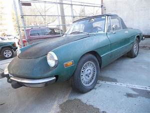 1974 Alfa Romeo Spider 2000 With Stainless Steel Bumpers