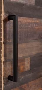 Minimal Industrial Sliding Barn Door Handle Rustica Hardware