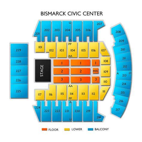 bureau front national bismarck civic center seating chart seats