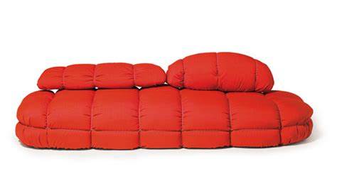 Modern Soft Polyurethane Red Sofa By Skitsch