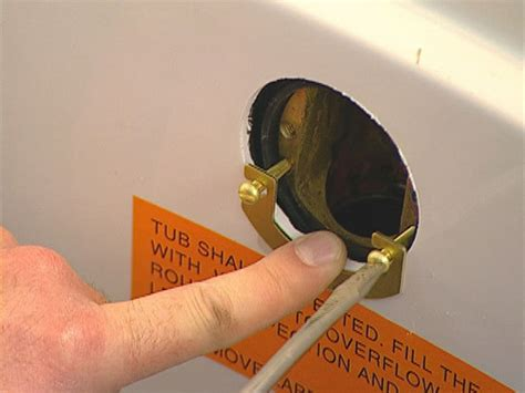 Bathtub Overflow Plate Gasket by How To Prepare A Bathroom Before Installing A Whirlpool