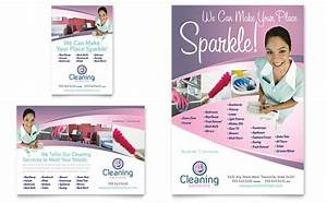 house cleaning maid services flyer ad template word With cleaning services advertising templates